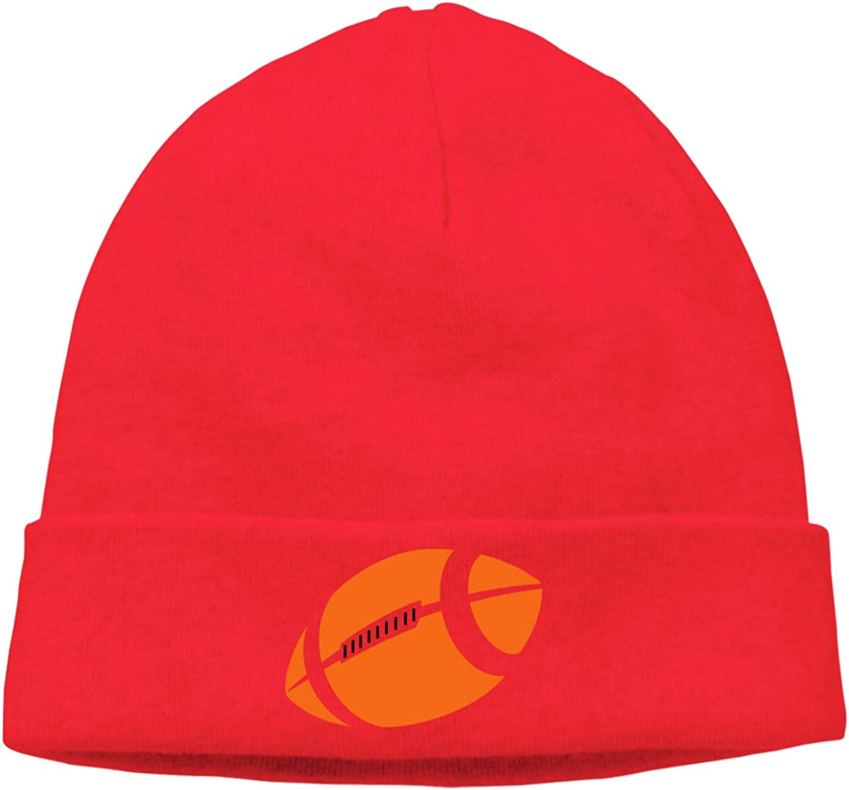 Year Round Comfort Stretchy /& Soft Beanie Hats for Men /& Women Serious Beanies for Serious Style Kljdiasjw Football Warm
