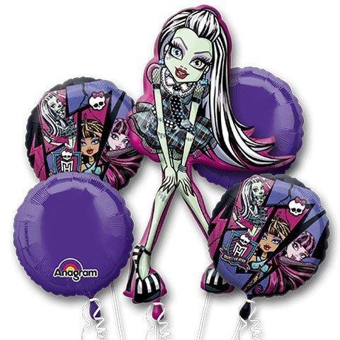 Monster High 5 Piece Bouquet Of -