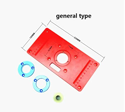 Universal type woodworking router table insert plate bakelite universal type woodworking router table insert plate bakelite milling inversion plate for engraving machine greentooth Image collections