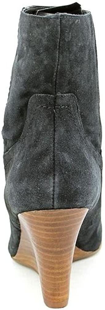 Marc Fisher Tiffy Womens Size 7 Black Suede Fashion Ankle Boots