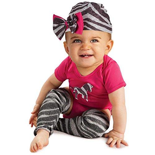 Rubie's Newborn Zebra Bodysuit, Pink/Black/White, 6-9 Months (Wild Zebra Bodysuit Costumes)