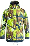 DC Men's Ripley 10k Water Proof Insulated Snowboard Jacket, Travel Goods, Large