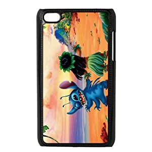 Customize Generic Hard Plastic Shell Phone Cover Lilo and Stitch Back Case Suitable For iPod 4 Touch 4th Generation