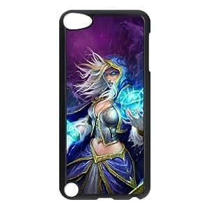 ipod 5 phone case Black Jaina Proudmoore World of Warcraft WOW TTS4309792