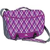 High Sierra Tank Backpack, Purple Argyle/Charcoal