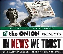 Onion Presents: 2013 Daily Calendar