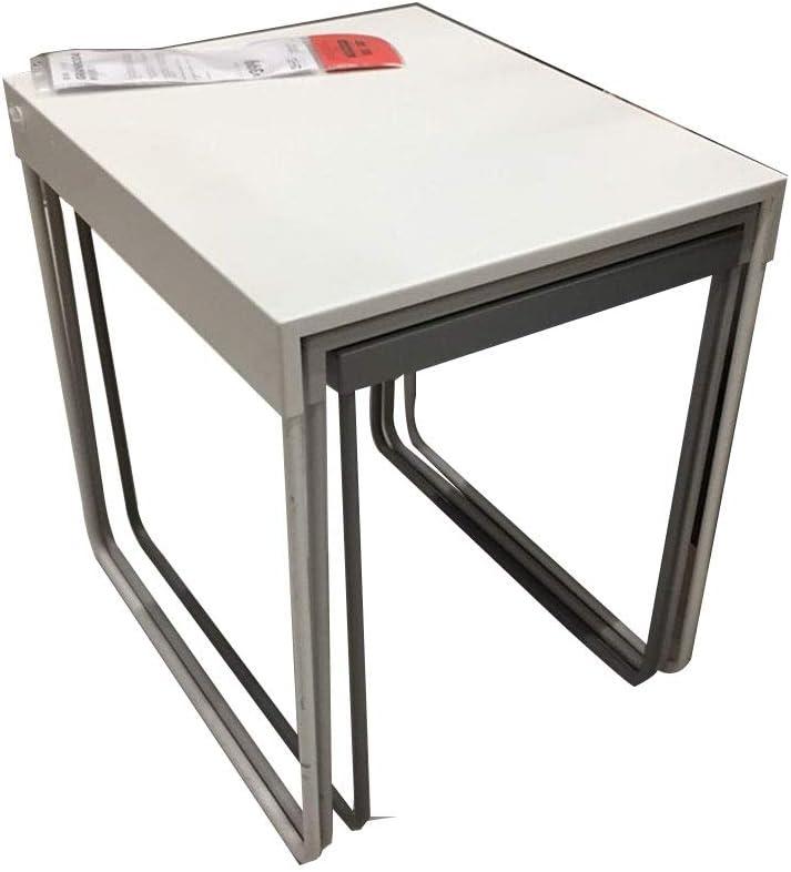 YNN Table Mesas Nido, Juego de 3 mesas de Centro Sofá Simple Mesa ...