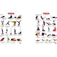 Yoga Chart 6 + Yoga Chart 4 (Set of 2 Books)
