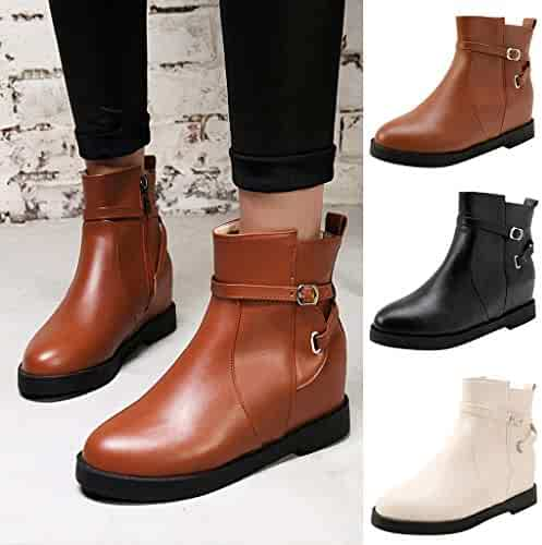 2e83cd1ad44 Women's Shoes, New Classic Women's Madeline Western Almond Round Toe Slip  on Bootie - Low