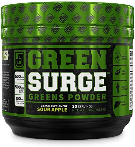 Green Surge Superfood Powder Supplement product image