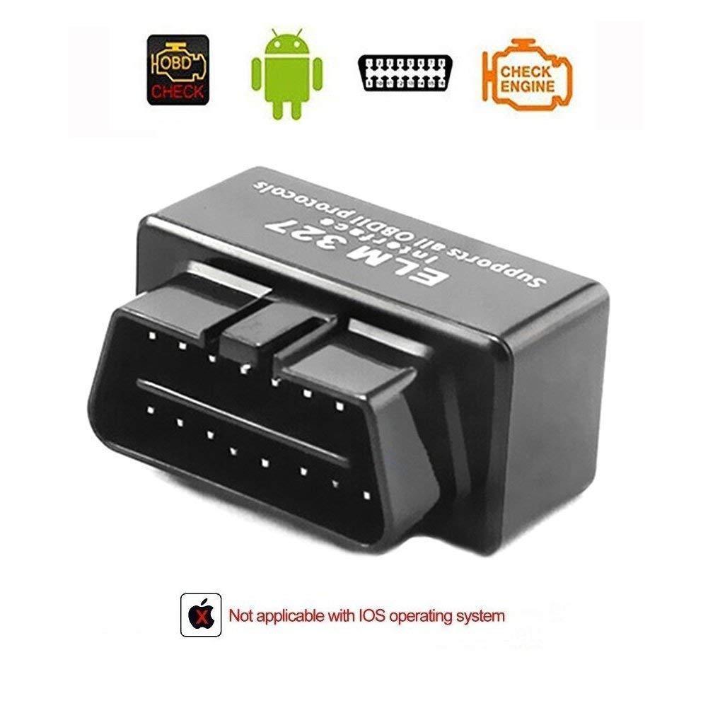 Eunavi Bluetooth auto lettore di codici Compatibile con Android / Droid / Torque di supporto ELM327 OBD2