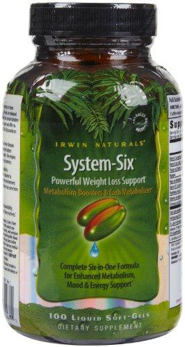 Irwin Naturals System Six Support Softgels