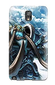 Flexible Tpu Back Case Cover For Galaxy Note 3 - World Of Warcraft