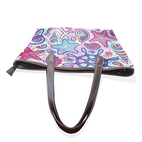 TIZORAX , Sac pour femme à porter à l'épaule Multicolore