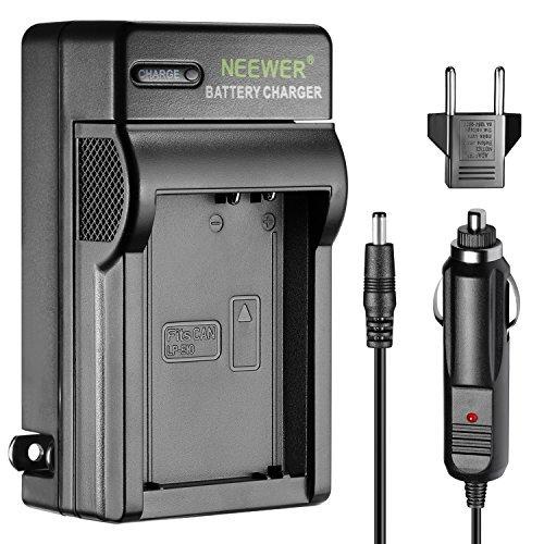 Neewer 10085320 USB Cargador de Batería para LP-E10 Batería Recargable para Canon 1100D 1200D Rebel T3 T5