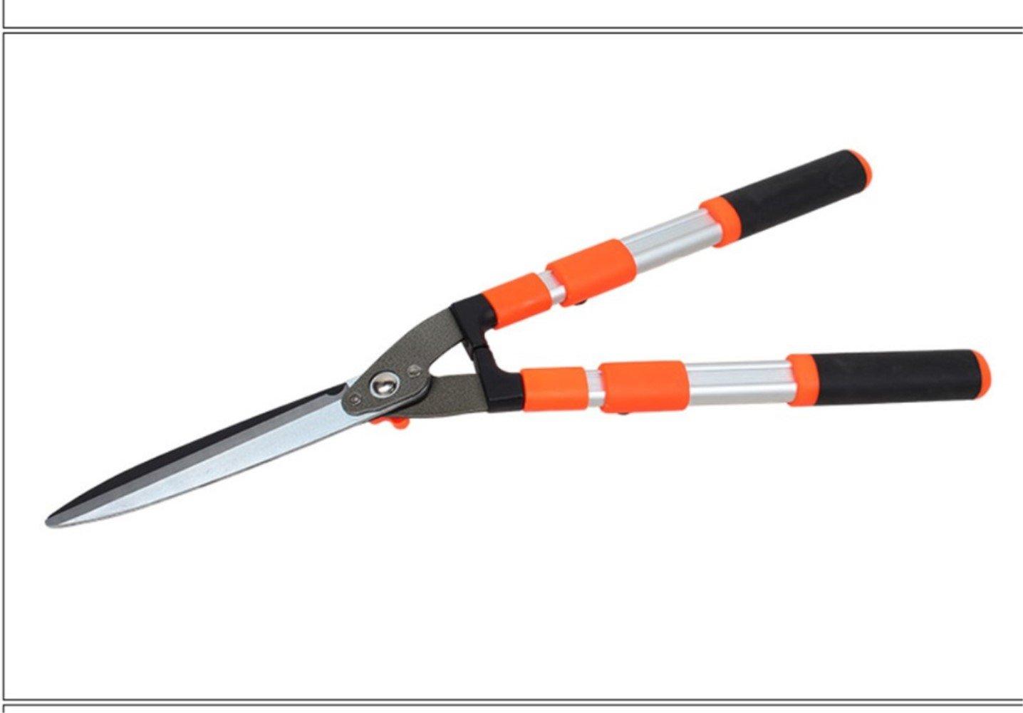 KJYTOOLS Gardening Scissors Hedgerow Trimming Greening Garden Tools Large Scissors 1.31KG Telescopic High Strength Handle