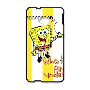 SpongeBob Squarepants For HTC One M7 Csaes phone Case THQ140236