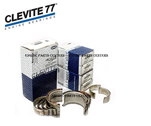 (Clevite 77 Rod& Main & Cam Bearing Kit compatible with Small Block Chevy 350 327 307 305 302 267 265 (STD Rods/STD)
