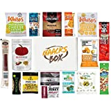 Deluxe Healthy Keto Snacks Low Carb Trail Mix Box - Bars, Beef and Chips