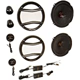 Pioneer TSA1606C Pioneer TS-A1606C 6-1/2 Component Speaker Package (6-3/4 Compatible)