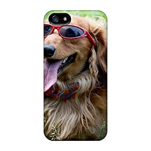 New Snap-on CaroleSignorile Skin Cases Covers Compatible With Iphone 5/5s- Dog Day Afternoon