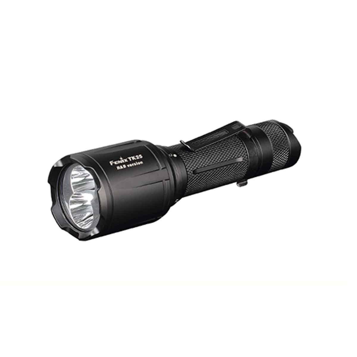 Fenix TK25ROT rote und weiße LED Taschenlampe exkl bei Benture