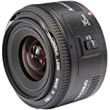 YONGNUO YN35mm F2 Lens 1:2 AF / MF Wide-Angle Fixed/Prime Auto Focus Lens For Canon EF Mount EOS Cameras