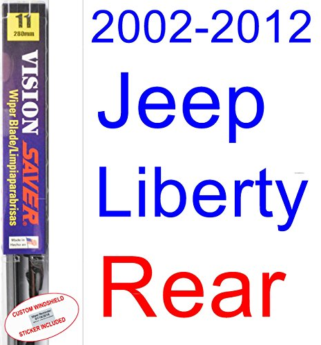 2002-2012 Jeep Liberty Wiper Blade (Rear) (Saver Automotive Products-Vision Saver) ()