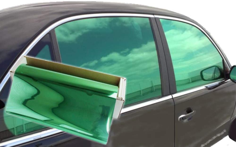 Blue, 40 x 5 JNK NETWORKS Reflective Shield Ceramic Window UV Tint Film for Cars Trucks Tractors