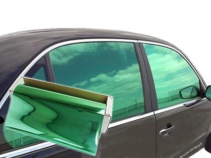 "JNK NETWORKS Reflective Auto Window Tint Film (Green, 40"" x 5'): Amazon.in:  Car & Motorbike"