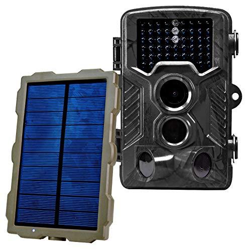 最新作 funks トレイルカメラ ソーラーパネルセット 防犯カメラ sdカード録画 2100万画素 2100万画素 sdカード録画 ブラック ブラック B07QMPGJVM, アルテミスクラシック公式ショップ:4b8fdd9f --- mfphoto.ie