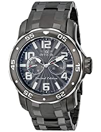 "Invicta Men's 18037SYB ""Pro Diver"" Gunmetal Ion-Plated Stainless Steel Watch"