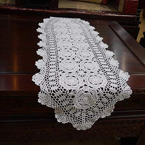 Damanni Handmade Crochet Doilies Inch%EF%BC%8CWhite product image