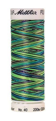 Efn Lamp - Mettler Poly Sheen Multi Polyester Thread, 200m/219 yd, Lava Lamp