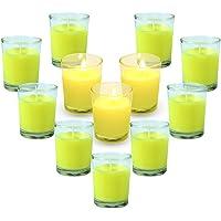 LA BELLEFÉE 12 x Velas de citronela 100%