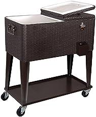 c7f28e9f28c Outdoor Wooden Ice Cooler Box