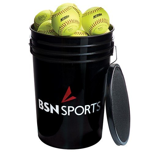 Macgregor Bucket of Softballs Pack (Yellow, 11-Inch)