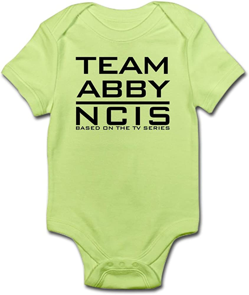 CafePress Team Abby NCIS Infant Bodysuit Cute Infant Bodysuit Baby Romper