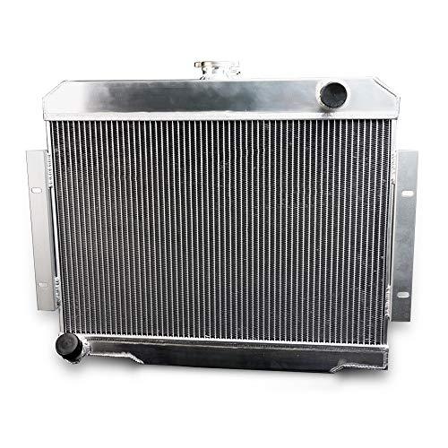 GPLUS Full Aluminum Racing Radiator For 1972-1986 JEEP CJ CJ5 CJ6 CJ7 3.8-5.0 MT 73-85 ()