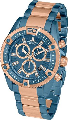 Hugo Boss Men's Day & Date Stainless Steel Bracelet Watch 1512046