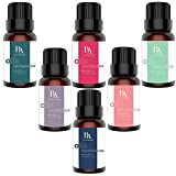 #1: Bel Air Naturals Aromatherapy Top 6 Essential Oils Set - 100% Pure Therapeutic Grade - Peppermint/Tea Tree/Rosemary/Lavender/Eucalyptus/Frankincense - Best For Oil Diffuser, Massage