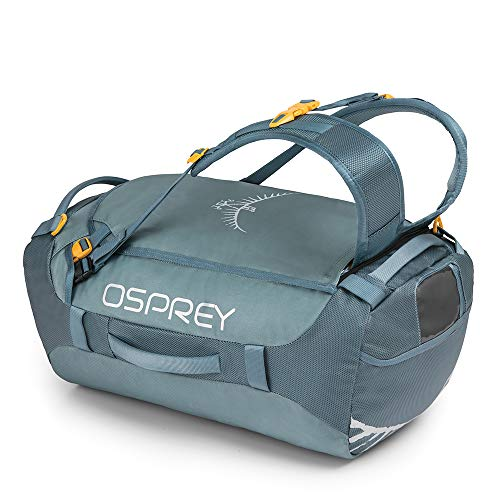 Osprey Packs Transporter 40 Expedition Duffel, Keystone Grey, One Size