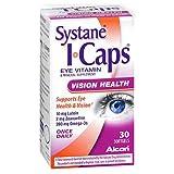 I Caps Lutein Omega-3 Vitamin 30 CT, (PACK of 12)