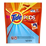 PODS Ocean Mist HE Turbo Laundry Detergent Pacs 40-load Bag