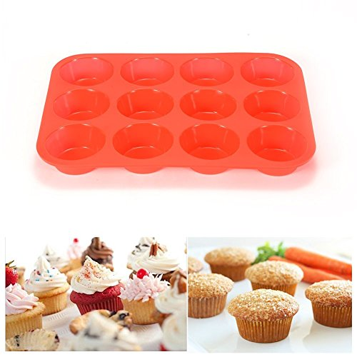 silicon cup cake pan - 5