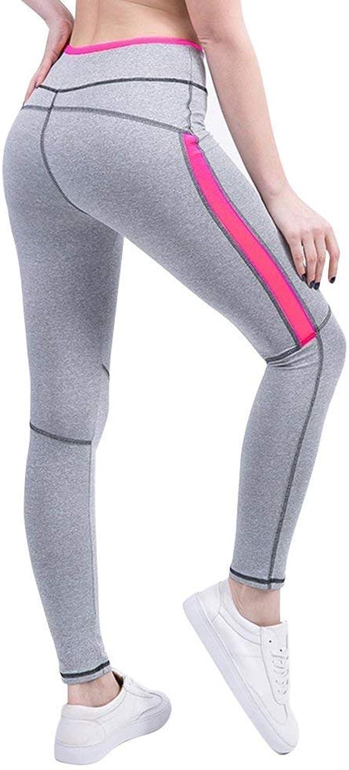 BOLAWOO Pantalones De Chándal Damas Yoga Estiramiento ...