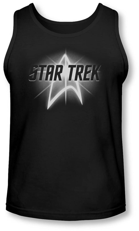 Star Trek - Mens Glow Logo Tank-Top