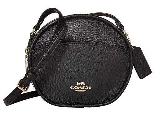 COACH Crossgrain Leather Canteen Im/Black One Size