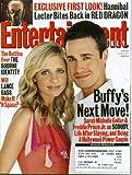 Entertainment Weekly June 21, 2002 Sarah Michelle Gellar & Freddie Prinze Jr/Buffy the Vampire Slayer, The Bourne Identity, Hannibal Lector in Red Dragon, Lance Bass/'N Sync, Brad Pitt & Gwyneth Paltrow Breakup