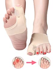 Corrector de juanetes para dedo gordo del pie, protector de férula para juanetes, mangas
